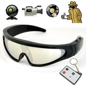 1280 x 720 Resolution Eyewear Camera Sunglasses with 5 Mega Pixels